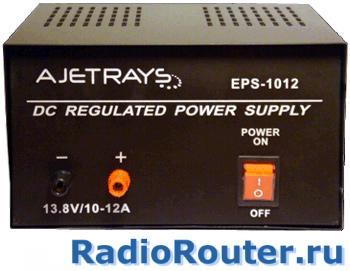 Адаптер питания  постоянного тока AjetRays EPS 1012 220/13,8V