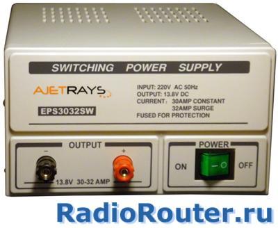 Импульсный адаптер питания  постоянного напряжения Ajetrays EPS3032 SW 13,8В