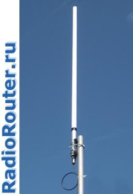 Базовая антенна для VHF радиостанций  и радиомодемов
