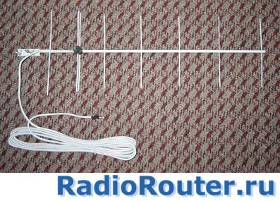 Направленная антенна для маломощных станций  433 МГц