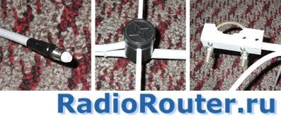Направленная антенна для безлицензионных станций и радиомодемов