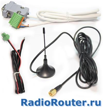 GSM GPRS  радиомодем  SprutNet RS232/RS485 (KIT) с последовательными интерфейсами RS-232/RS-485