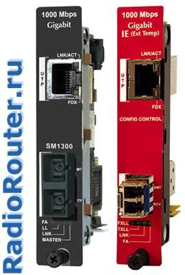 Управляемые SNMP оптоволоконные медиаконвертеры   iMcV-Gigabit и IE-iMcV-Gigabit