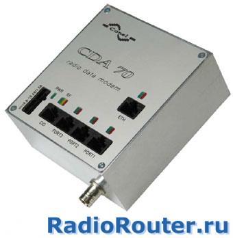 УКВ радиомодем CONEL CDA70-U-E
