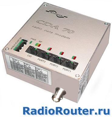 Промышленный радиомодем Конел CDA 70-U-4M