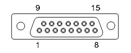 Распиновка разъема DB15 радиомодема JAVAD HPT 404BT